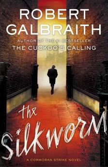 Capa de The Silkworm, novo livro de Robert Galbraith, pseudônimo de J.K. Rowling